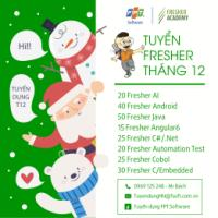 FPT SOFTWARE tuyển dụng tháng 12/2018