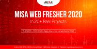 MISA WEB FRESHER 2020 | In 20+ Real Project